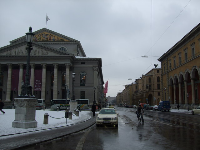 Maxillianstrasse and Nationaltheater