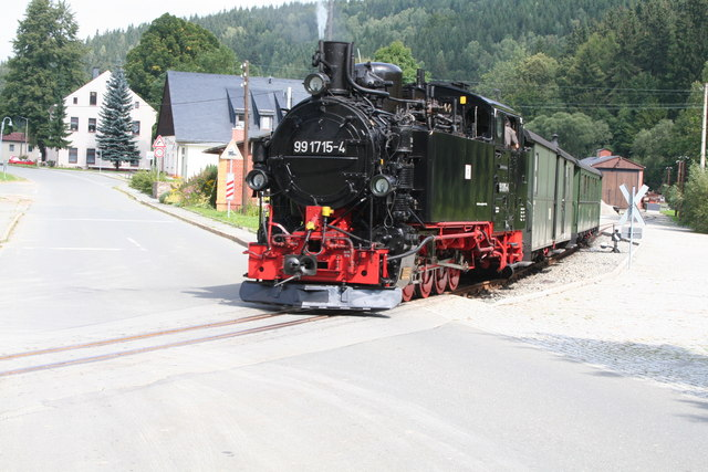 Narrow gauge train at Joehstadt