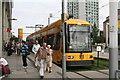 UVS1056 : Tram at Hauptbahnhof Nord von Dr Neil Clifton