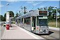 UMU1113 : Freiburg:  tram at Innsbrucker Strasse terminus von Dr Neil Clifton