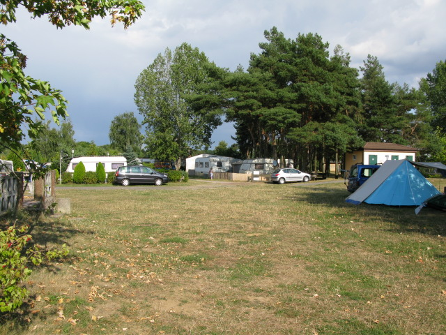 Campingplatz Niegripper See (Camp site at Niegripper Lake near Burg)