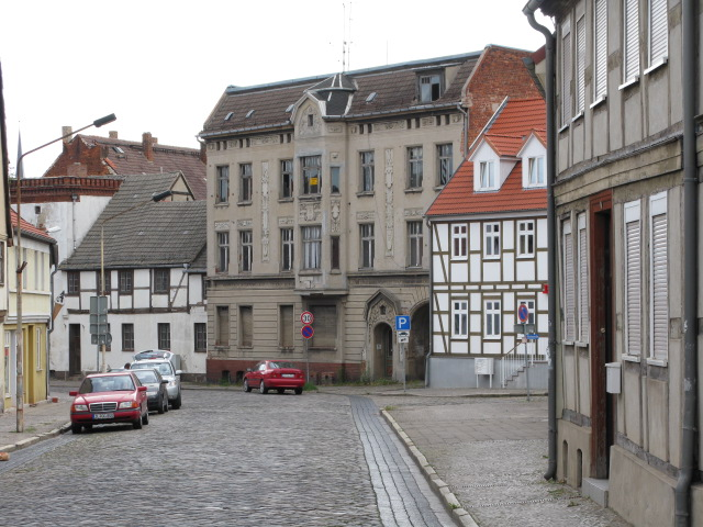 View along Magdeburger Strasse