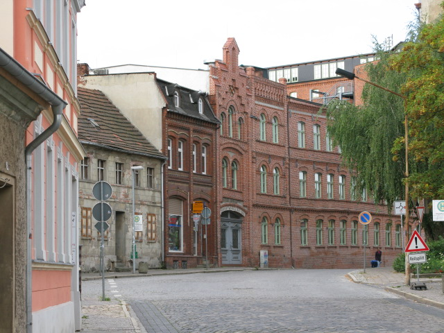 Buildings on Magdeburger Strasse, Burg