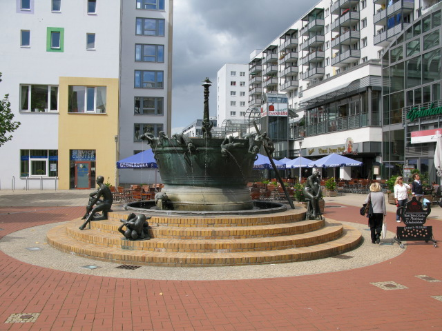 Fountain on Leiterstraße, Magdeburg