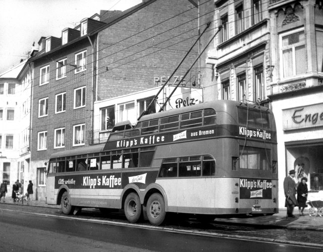 Trolleybus in Aachen