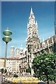 UPU9134 : Rathaus, Marienplatz von Colin Smith