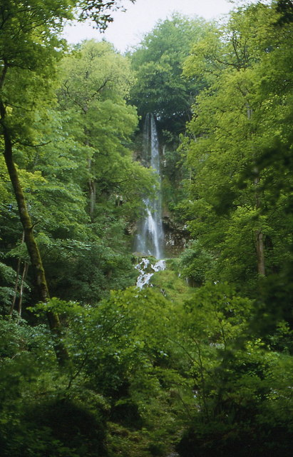 Uracher Wasserfall (Bad Urach's waterfall)