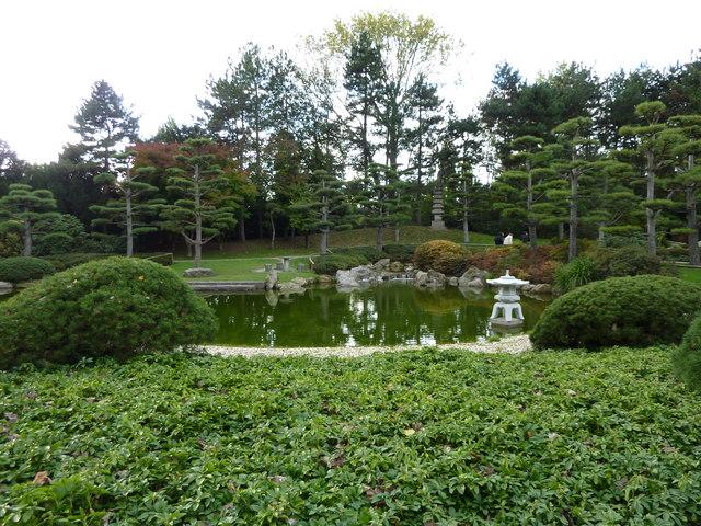 d sseldorf japanischer garten duesseldorf japanese garden mgrs 32ulb4280 geograph. Black Bedroom Furniture Sets. Home Design Ideas