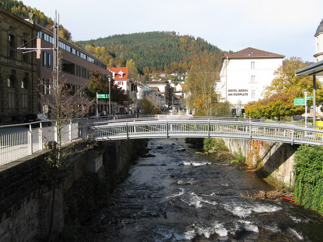 River Grosse Enz at Bad Wildbad