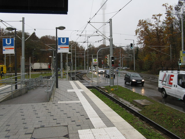 U-Bahn station on Line U15, Ruhbank