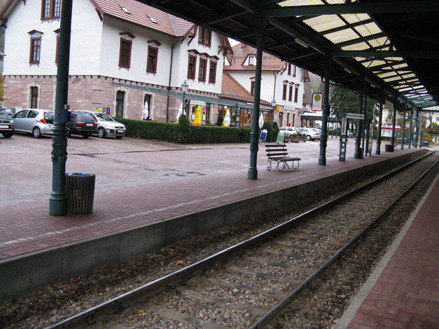 Bad Herrenalb Bahnhof