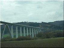UNB4057 : Fuldabrücke (ICE) bei Binsförth von Udo und Joan Fugel
