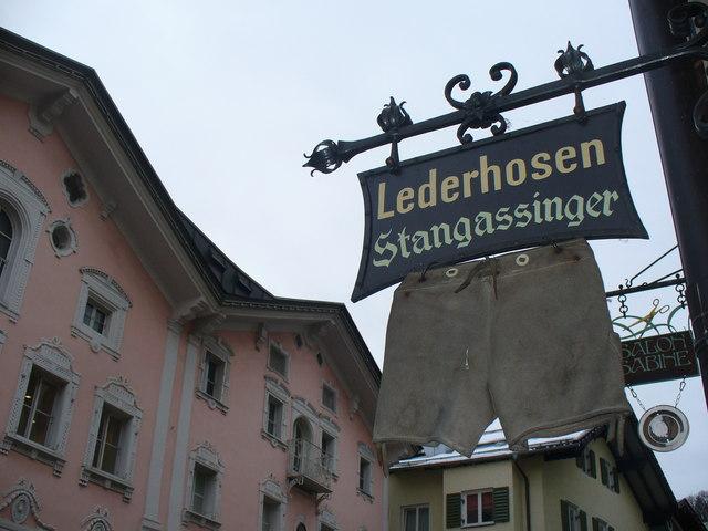 Stangassinger Lederhosen