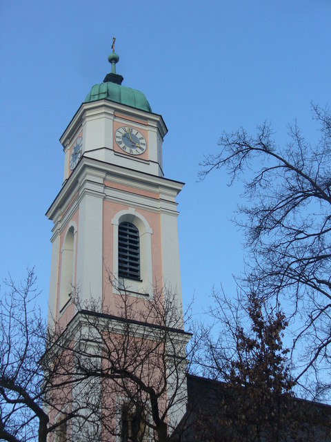 Pfarrkirchturm, Berchtesgaden (Parish Church Tower)