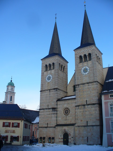 Stiftskirche, Berchtesgaden (Abbey Church)