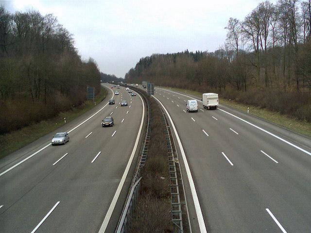 Autobahn A81 Vollsperrung