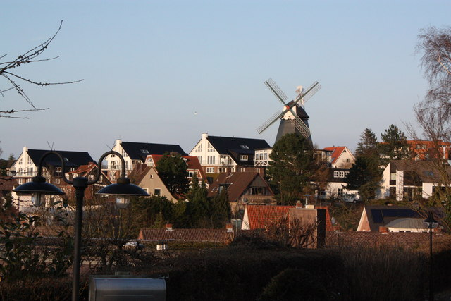Windmühle in Laboe (Windmill in Laboe)
