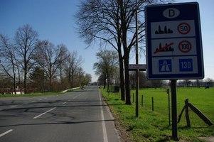 Holland Grenze Dicht