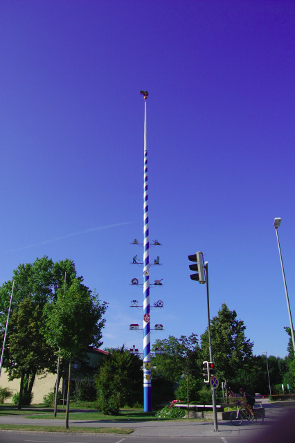 Neuried: Maibaum