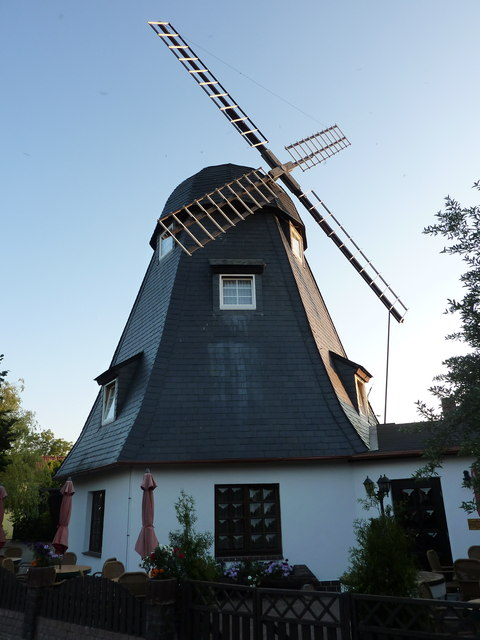 Windmühle in Born