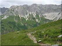 Weg zwischen Laufbacher Eck und Südlicher Schönberghütte