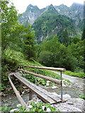 Oytal: Steg über den Laufbach