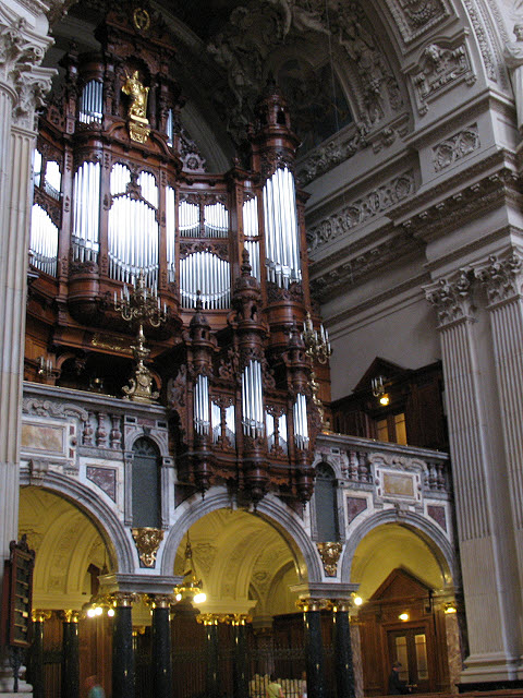 Orgel im Berliner Dom (Organ in Berlin Cathedral)