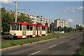 UVT6897 : Birkenallee, Frankfurt (Oder) von Alan Murray-Rust