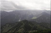Blick über den Südgrat des Auerspitz
