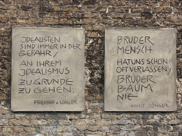 Zitater der Philosophen (1) (Quotations from philosophers (1))