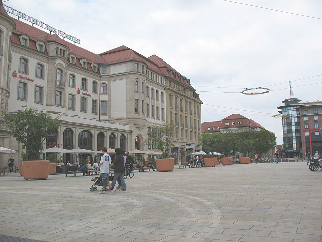 Willy Brandt Platz, Erfurt