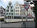 UPB4249 : Alte Straßenbahnwagen in Erfurt (Old tramcar in Erfurt) von Stephen Craven