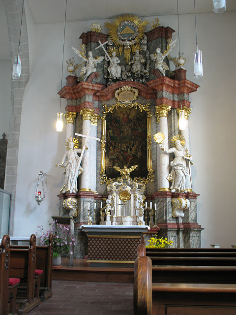 Hauptaltar der Allerheiligenkirche (High altar in All Saints church)