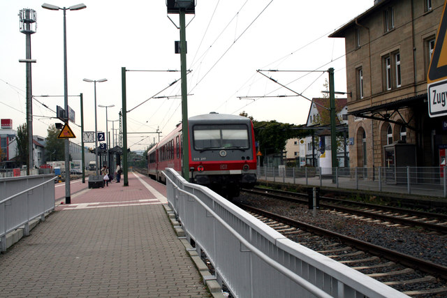 Car And Driver >> Oehringen Hbf:: MGRS 32UNV3650 :: Geograph Deutschland