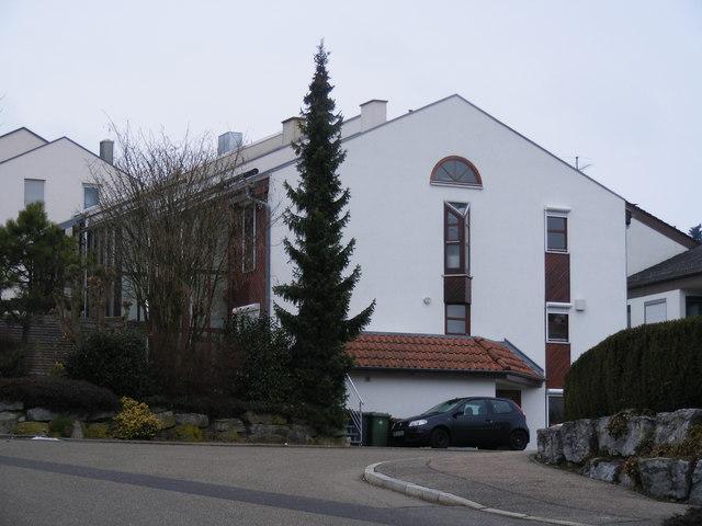 Moderne häuser in götzentor mgrs 32umv8820 geograph deutschland