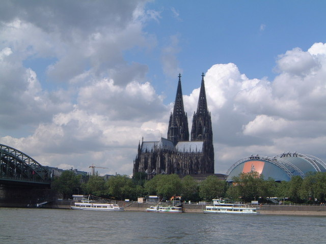 Koln waterfront