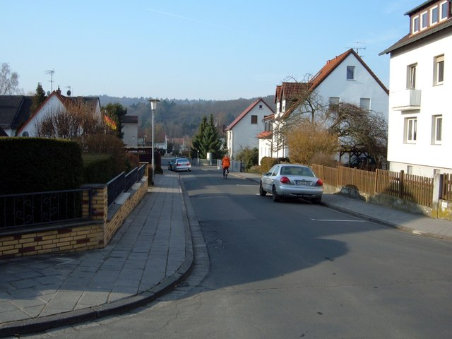 Bad Nauheim, Theresienstraße (Bad Nauheim, Theresienstrasse)