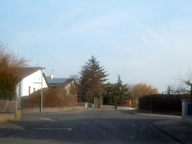 Bad Nauheim, Kreuzung Theresienstr./Katharinenstr. (Bad Nauheim, Theresienstr./Katharinenstr. crossroads)