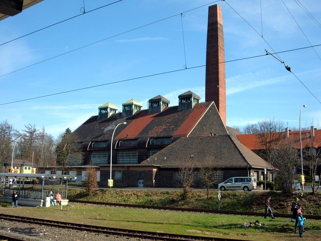 Bad Nauheim, Fernheizwerk (Bad Nauheim, district heating plant)