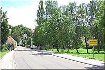 Jetzendorf: Ortsteingang