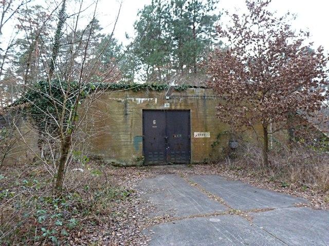 Bunker In Der Nähe Des Us Depots Germersheim Mgrs 32umv5152