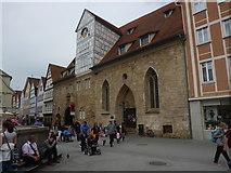 Reutlingen: Spitalkirche und Durchgang zum Spitalhof