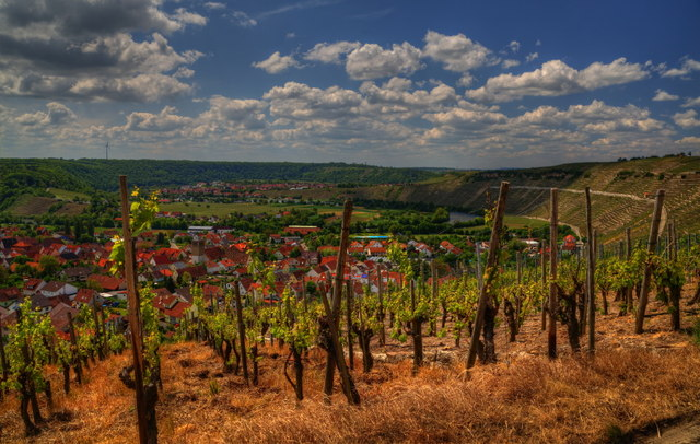 Mundelsheim und Hessigheim im Neckartal (Mundelsheim and Hessigheim in the Neckar valley)