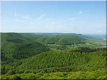 Blick vom Roßberg nach Südwesten
