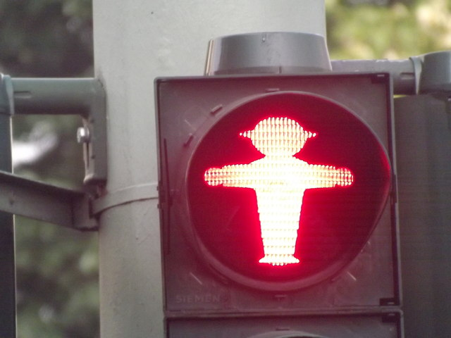 Roter Ampelmann (Red Traffic Lights Man)