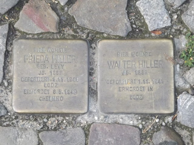 "Stolpersteine, Berlin (""Stumble Stones"")"