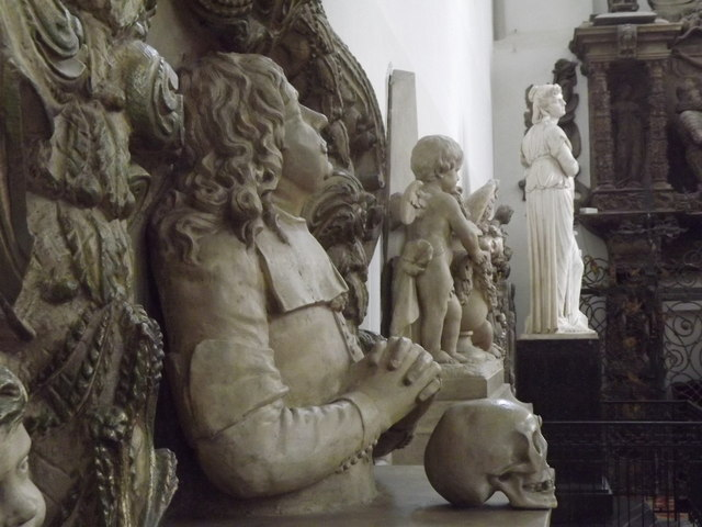 Figuren in der Marienkirche (Figures in St Mary's Church)