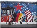 UUU9318 : Wandbild, East Side Gallery (Mural) von Colin Smith