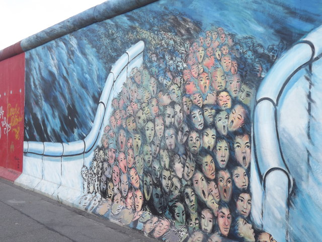 East Side Gallery - Wandbild (Mural)