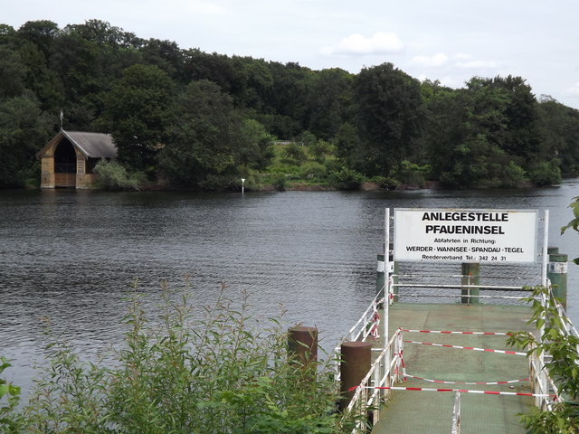Anlegestelle Pfaueninsel (Peacock Island Jetty)